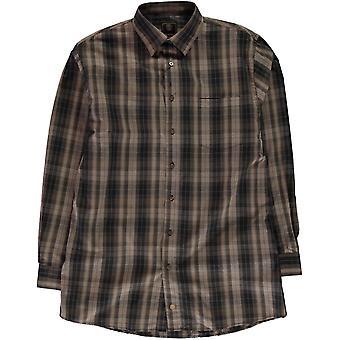 Fusion Check Shirt Mens