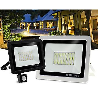 Waterproof Spotlight 10w 30w 50w 100w Flood Light Outdoor Lighting For Garden