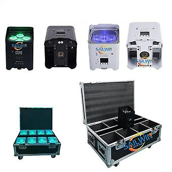 Stage Lighting Battery Operated Wireless Led Uplight For Wedding Mobile App Led