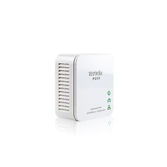 Tenda P200 200Mbps Mini Power Powerline-netværkskort, Ethernet Plc