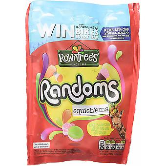 Rowntrees Randoms Squishems Sweets Treat bag, 140g - Pack of 9