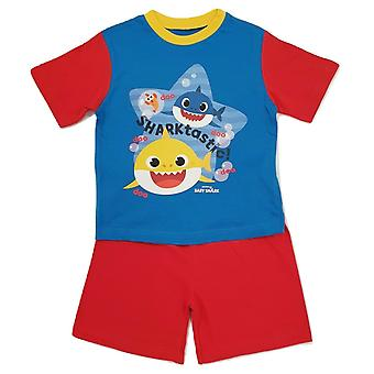 Baby Shark Boys Short Pyjama Set
