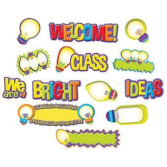 Light Bulb Mini Bulletin Board Set