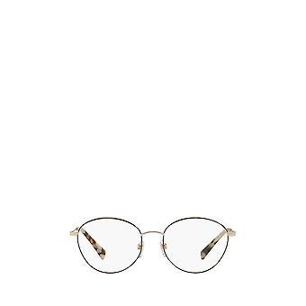 Valentino VA1003 lichtgoud / zwarte vrouwelijke bril