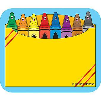Crayon Box Namensschilder, Packung mit 40