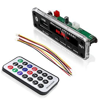 Langaton / Bluetooth 5v / 12v Mp3 Wma Decoder Board - Tuki Usb Sd Aux Fm Audio