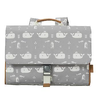 Fresk Book bag Whale dawn grey
