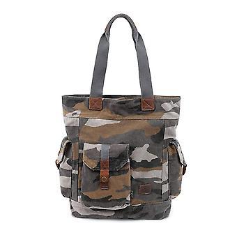 Renegade Camo Canvas Tote Bag