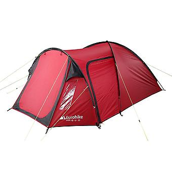 New Eurohike Avon Deluxe 3 Person Tent Red