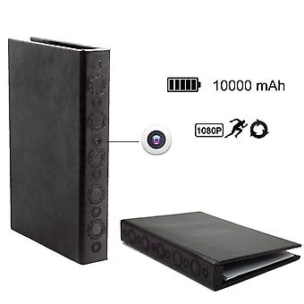 1080P Hardcover Book Motion Detective Hidden Camera with Night Vision Long Time Standby for 2 Years
