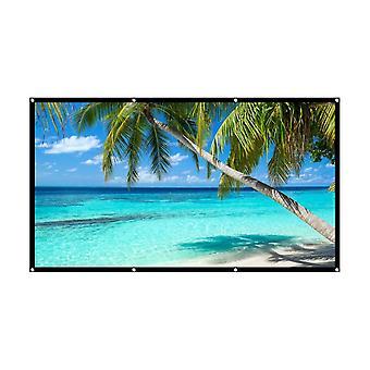 Home HD-scherm 120 inch 16: 9 projector projectiescherm outdoor draagbare vouwen eenvoudig scherm