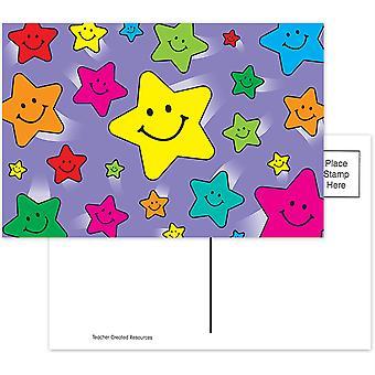 Postales happy stars, paquete de 30