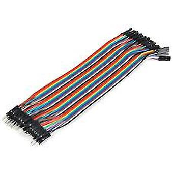 1 Pin Female To Female Jumper Wire Dupont Cable For Breadboard Power Module