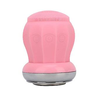 Electric facial cleansing brush device rechargeable skin care cleanser gentle exfoliation for all skin types mh88