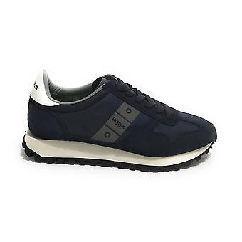 Blauer Sneaker Running Dawson Suede/ Men's Blue Navy Fabric Us21bu07