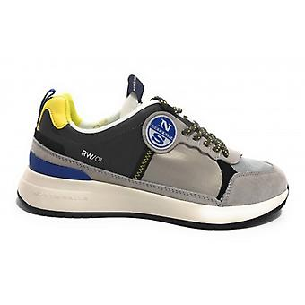North Sails Sneakers Mod. Flex 016 Lime Grey Us20ns03