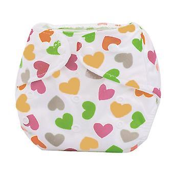 Reusable Waterproof Digital Printed Baby Cloth Diaper (newborn)