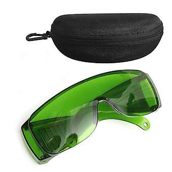 IPL Zöld 340-1250nm lézeres fényvédő védőszemüveg szemüveg Od+4