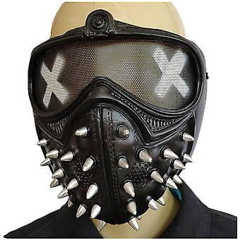 Game Watchdog Mask Half Face Mask Halloween Party Cosplay Rekwisieten