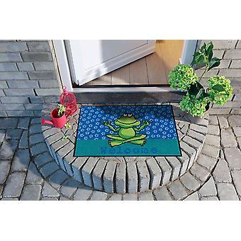 Salonloewe paillasson yogafrosch 50 x 75 cm lavable