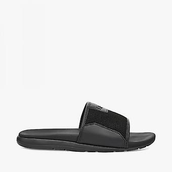 UGG Xavier Hyperweave Mens Slide Sandals Black