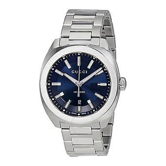 Gucci GG2570 Blue Dial Men's Watch YA142303