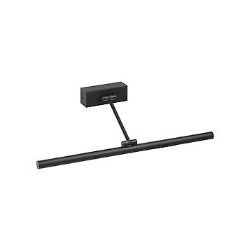 Integrated LED Picture Light Wall Light Black, 3000K