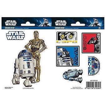 Star Wars - R2-D2/ C3PO Mini Stickers