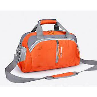 Nylon Waterproof Sports Gym Bag With Shoe Compartment/men