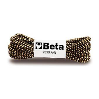 Beta 073990017 7399-Set A/N-140 10 Paar Schnürsenkel Orange/Schwarz 140Cm