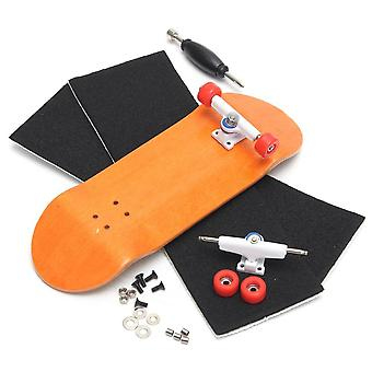 Basic Wooden Fingerboard Professional Skateboard, Wood Fingerboars With