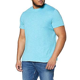 s.Oliver Big Size 131.10.003.12.130.2040999 T-Shirt, Turquoise Melange, XXL Men