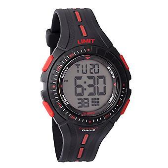Limit - Armbanduhr, Mann, Analog, schwarzer Kunststoffarmband