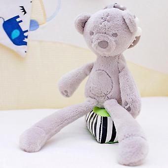 Cute baby crib stroller soft plush toys bunny, bear