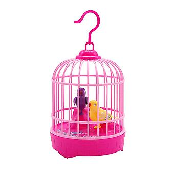 Mini Voice Control Induction Bird Cage Children's Toy Electric Voice Simulation |RC Animals