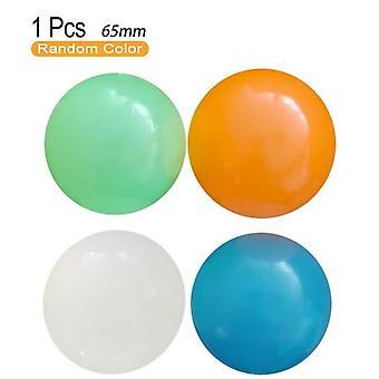 Stick Wall Ball Fidget Luminescent Globules Decompression Ball