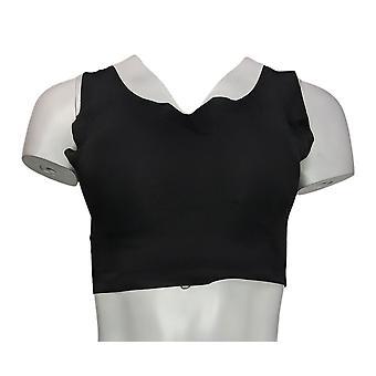 Rhonda Shear One Invisible Body w/ Removable Pads Black Bra 671539