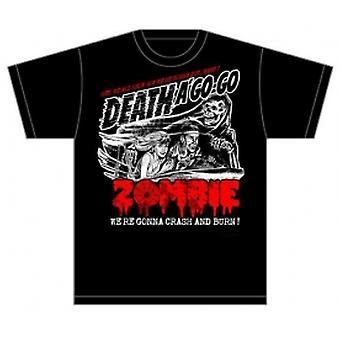 Rob Zombie Zombie Crash Mens Black TShirt: Medium
