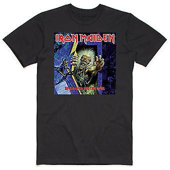 Iron Maiden - Ei rukousta kuolevien miesten X-Large T-paita - Musta
