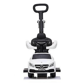 Loopauto Mercedes met geluid – Meegroeiend – Wit