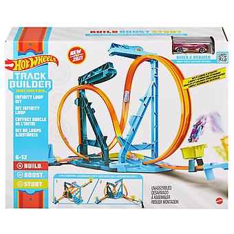 Hot Wheels - Track Builder Infinity Loop Playset