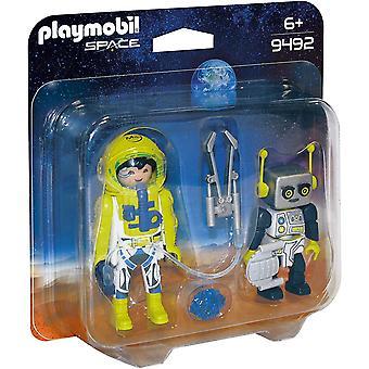 Playmobil Astronaut and Robot Duo Pack Figures