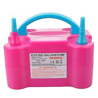 600w 110v Bomba de balão elétrico portátil (uk Standard) Rose Red & azul