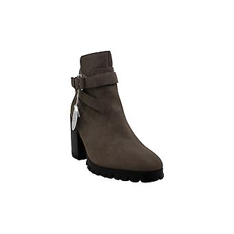 Steven by Steve Madden Women's Shoes ISRA Suede Almond Toe Ankle Fashion Boots