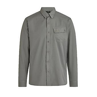 Belstaff Pitch Camisa de manga larga granito gris