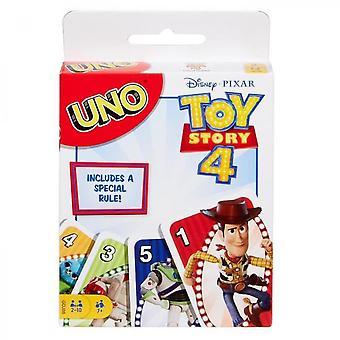 Uno - Toy Story 4 - Disney Pixar Movie Family Card Game - De 2 a 4 jugadores - Edades 7+
