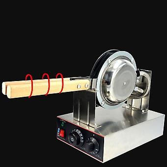 Elektrisk 220V Non Stick Bubble Egg Waffle Maker Machine Bubble Puff Cake