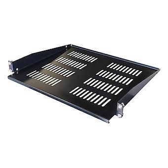 TOTEN, fixed shelf for G-series, 1U, 381mm depth, for 600mm and up