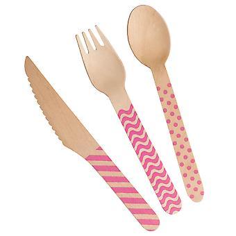 Carnival - Cutlery Set - Pink