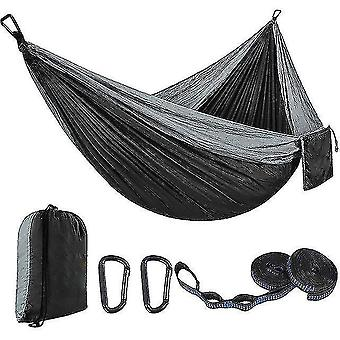Hammocks with tree straps camping hammock quick drying hiking breathable beach easy set up travel wear
